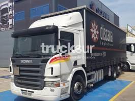 huifzeil vrachtwagen Scania P340 2006