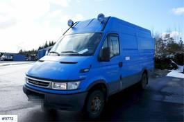 gesloten bestelwagen Iveco Daily 50C17 Van with good tires. 2006