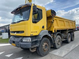 kipper vrachtwagen > 7.5 t Renault Kerax 420 DCI 8X4 MANUAL - FULL STEEL + KIPPER 2006