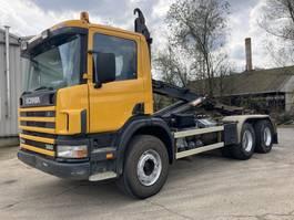 containersysteem vrachtwagen Scania P114-380 Hook-Manual-Full Steel-Euro 2 2000