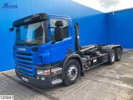 containersysteem vrachtwagen Scania P380 6x2, Opticruise, Retarder, Guima, Engine defect 2007