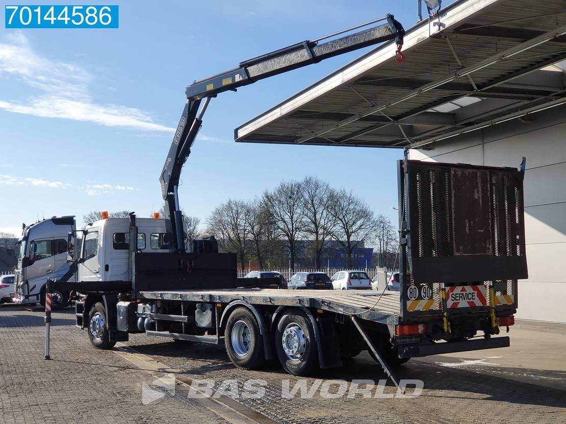takelwagen-bergingswagen-vrachtwagen Mercedes-Benz Axor 2533 6X2 Manual Liftachse Euro 4 Fassi F150A.22 2009