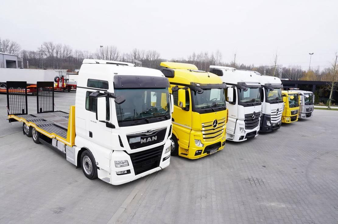 takelwagen-bergingswagen-vrachtwagen Mercedes-Benz Actros 2542 , 2545, MAN TGX 26.460, TGL 8.180, TGL 12.220 2018
