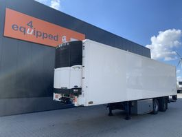 koel-vries oplegger Pacton 2-axle city-reefer, Carrier Vector 1800 D/E, taillift 2.000kg, NL-trailer 2006
