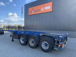 container chassis oplegger Groenewegen 20FT/30FT ADR (EX/II, EX/III, FL, AT), ALCOA, NL-Chassis 2006