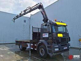 platform vrachtwagen Iveco Stralis 270 hiab 144 F Remote 2003