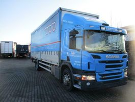 huifzeil vrachtwagen Scania P. 230 2012