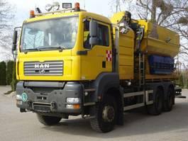chassis cabine vrachtwagen MAN TGS 33.360 6x6 Wechselfahrg. *Kran *Salzstreuer 2005