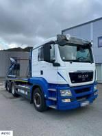 containersysteem vrachtwagen MAN TGS 26.480 Lifter dumper 2012