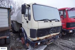 tankwagen vrachtwagen Mercedes-Benz 1617 Tank truck 1985