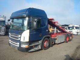 containersysteem vrachtwagen Scania P320 Euro-5 2011