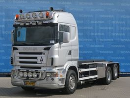 containersysteem vrachtwagen Scania R500-V8 LB6X2HHZ   V8   OLD TACHO   MANUAL GEARING   NCH HTS CABLE SYSTEM 2006