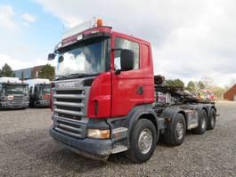 kipper vrachtwagen > 7.5 t Scania R480 8x4 Multilift Euro 4 Full steel 2007
