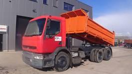 kipper vrachtwagen > 7.5 t Renault Premium 385 (6X4 / SUSP. LAMES / GRAND PONT / POMPE MANUELLE) 2000