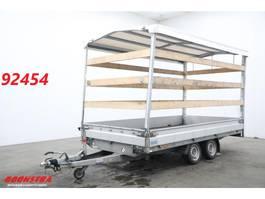 huif aanhangwagen Hapert TA C36A Tandemasser Huifzeil 2700 KG 2017