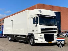 koelwagen vrachtwagen DAF XF 105.410 SSC / Bloemen / Race / Horses TRS ICELAND! / MULDER 2009