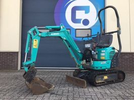 minigraafmachine rups Kobelco SK08 Mini graafmachine - Mini Excavator - Year 2017 - Hours 777 - GOOD CONDITION !! 2017
