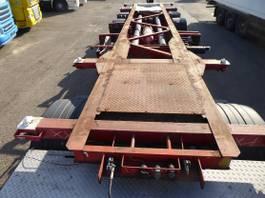 container chassis oplegger Groenewegen 1 x 20 1 x 30 , tank, Alcoa 2002