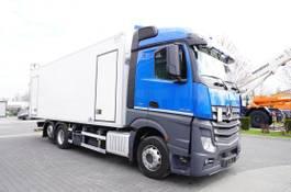 koelwagen vrachtwagen Mercedes-Benz Actros 2545 , E6 , 6X2 , BI-TEMPERATURE , 19 EPAL , 2x side door 2017