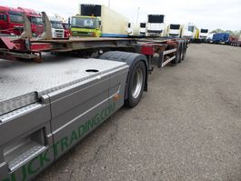 container chassis oplegger Groenewegen 45CC-16-27TUN,multi 20,30,40,45 voet,BPW 2004