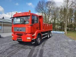 kipper vrachtwagen > 7.5 t MAN TGA 33.400 Double usage tracteur routier +camion benne(hardox)