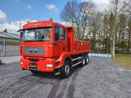 kipper vrachtwagen MAN TGA 33 Double usage tracteur routier +camion benne(hardox)