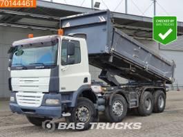 kipper vrachtwagen > 7.5 t DAF CF 85.410 8X4 Manual Big-Axle 2-Seiten Euro 4 2008
