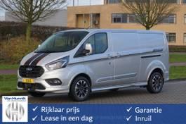 gesloten bestelwagen Ford Transit Custom 320L 185PK 2.0 TDCI Automaat Limited Sport Navi, Camera, Cruise, 2x Schu... 2021