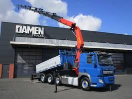 kipper vrachtwagen > 7.5 t DAF CF 510 FAT/Q 8x4 ( Tridem ) Euro 6 2015