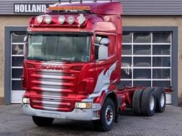 chassis cabine vrachtwagen Scania R620 V8 - 6x4 - Retarder - 3 pedals 2008
