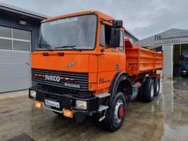 kipper vrachtwagen > 7.5 t Iveco IVECO 260.30 AH 6X6 meiller tipper 1988