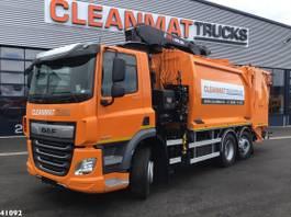 vuilkar camion DAF CF 340 FAN Hiab 23 ton/meter laadkraan 2021