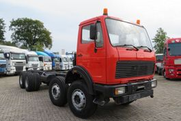 chassis cabine vrachtwagen Mercedes-Benz 2632  8x4 ( 12 tyres BIG AXELS), full spring VERY CLEAN TRUCK! 1982