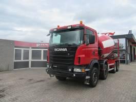 betonmixer vrachtwagen Scania G 440 8x4 EURO-5 10m3 BETONMIXER