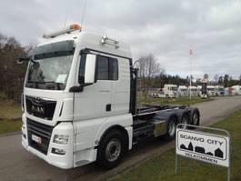 containersysteem vrachtwagen MAN TGX 35-500 8x4-4 BL 2017