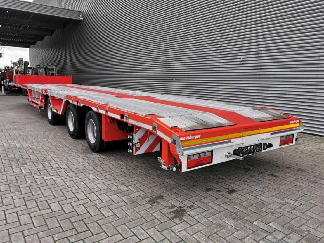 semi dieplader oplegger Meusburger MPS-3 7 M Extand. Radmulden Liftaxle Mega New! 2020