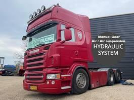 standaard trekker Scania R560-V8 Manuel Gear hydr. system Full Air suspension 3100mm weelbase 2008