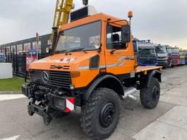 kipper vrachtwagen > 7.5 t Unimog U 1600 4X4 + TIPPER 1994