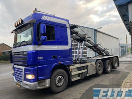 containersysteem vrachtwagen DAF XF 105 FAK XF105/460 8x2 NCH 30 tons systeem 2008