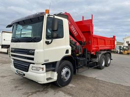 kipper vrachtwagen > 7.5 t DAF CF75 2007