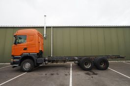 chassis cabine vrachtwagen Scania R450 6X4 CHASSIS MANUAL GEARBOX 2015