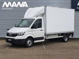 gesloten bestelwagen MAN TGE 5.180 3.5t RWD 180PK Bakwagen Laadklep Airco Navigatie Dubbel Lucht Laad... 2021