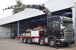 open laadbak vrachtwagen Scania R500-V8 PM Serie 48 SP, 8x Extended, 8x4, Manuel Retarder, Truckcenter Apeldoorn 2007