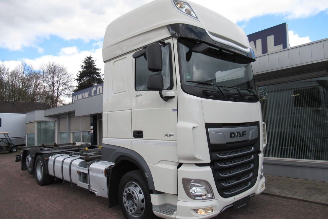 chassis cabine vrachtwagen DAF XF 480 FAR 6x2 Euro 6 2018