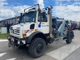 open laadbak vrachtwagen Unimog U5000 4X4 2004