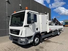 kraanwagen MAN TGL 12.180 Euro 6 2016