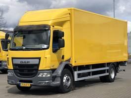 bakwagen vrachtwagen DAF LF 230 19T EURO 6 GESLOTEN OPBOUW / 2000KG LAADKLEP 2017