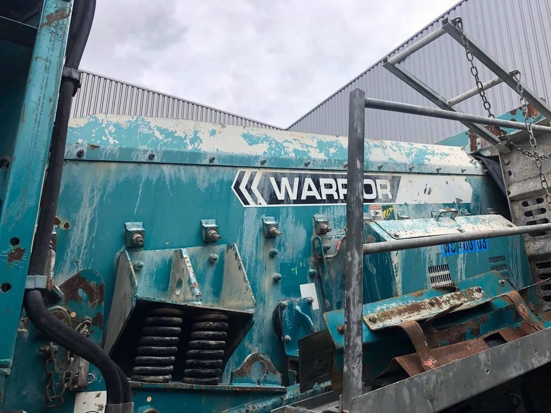 zeefinstallatie Powerscreen Warrior 1400 3 way split 2008