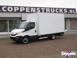 gesloten bestelwagen Iveco Daily 35 C 14 Bakwagen met laadklep 2018