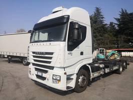 huifzeil vrachtwagen Iveco Stralis 420